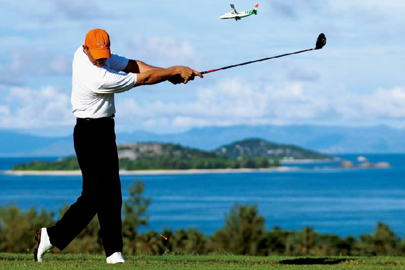 Play in beautiful surroundings, capture the natural relaxation and improve your game