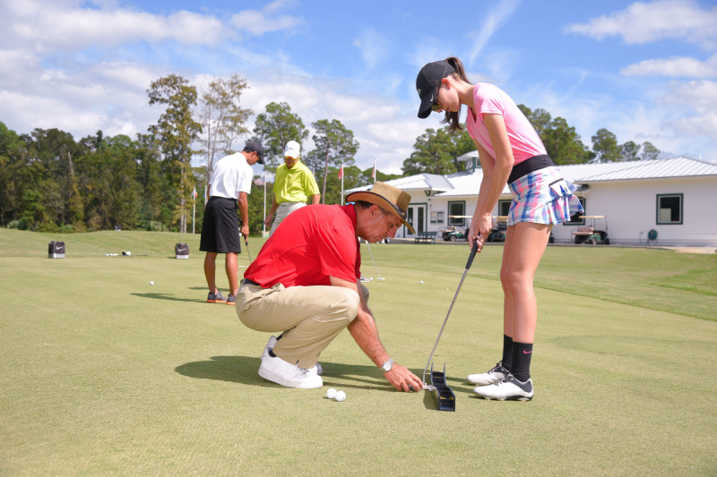 Benefits of golf to students