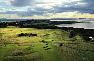 Aerial View of Golf Ground.