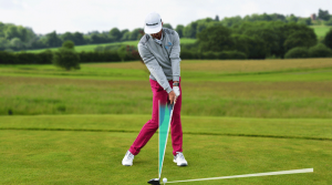 Image showing a player playing golf.