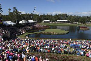 Image of a golf tournament.