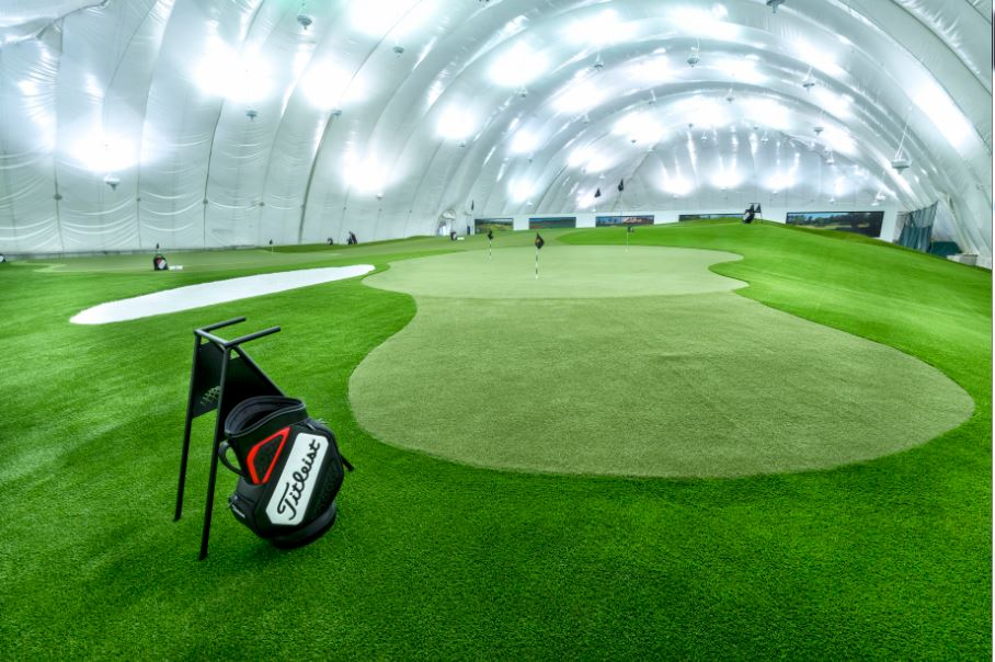 How to practice Golf indoors this winter